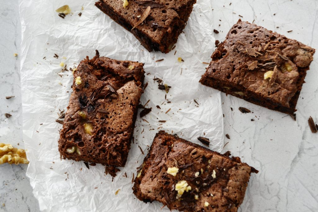 Brownie a la sartén