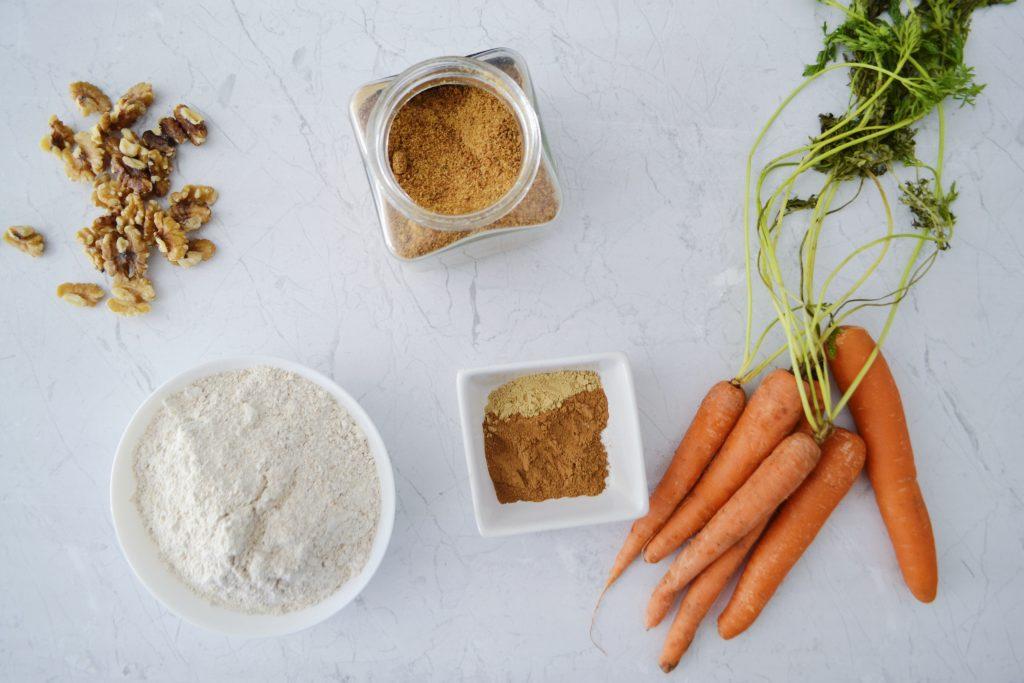 Bizcocho de zanahoria húmedo